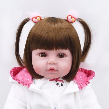 Otarddolls baby doll reborn 61cm Toddler Silicone reborn dolls 24in Lifelike vinyl Baby Girl Reborn baby real doll for kids gift