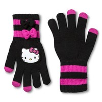 Hello Kitty Girls' Bow Gloves