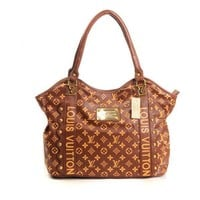 Louis Vuitton LV Fashion Leather Tote Satchel Shoulder Bag Handbag-1