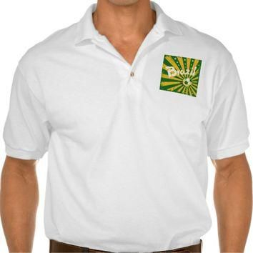 Ola Brazil | Men's Gildan Jersey Polo Shirt, White