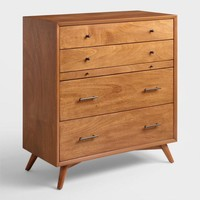 Acorn Wood Brewton Dresser with Pullout Tray