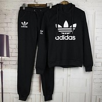 shosouvenir : Adidas: Sleeve Shirt Sweater Pants Sweatpants Set Two-Piece Sportswear