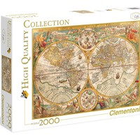 Ancient Map - 2000 Piece Jigsaw Puzzle