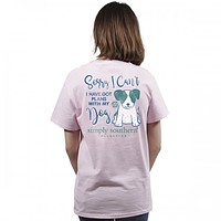 Preppy Plans Tee by Simply Southern
