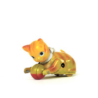 Vintage 1940s Tin Cat Toy Made in Occupied Japan