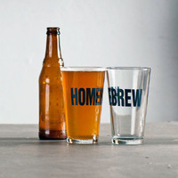 The Little Apple — Homebrew & Drinking Man Pint Glasses