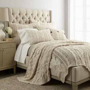 Amity Home Micah Cable-Knit Bed Linens