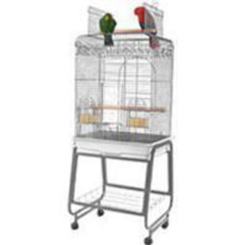 A&e Cage Company - Open Flat Top Cage With Removable Stand