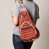 Yogi Fire Stripe Tibetan Shoulder Bag