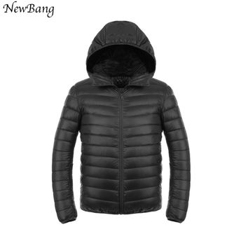 Duck Down Ultralight Down Jacket With a Hood