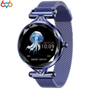 696 T88 Smart Watch Women Fashion Heart Rate Monitor Smartwatch Lady Gift Fitness Bracelet Pedometer for IOS Android Phone PK S3