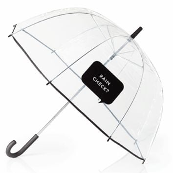 kate spade new york rain check umbrella
