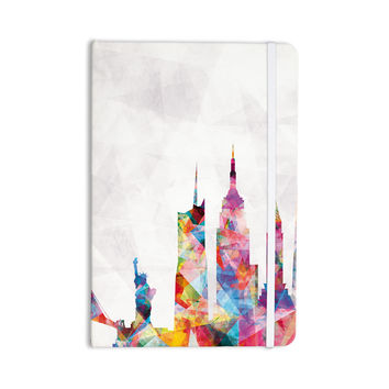 "Mareike Boehmer ""New York"" Rainbow City Everything Notebook"