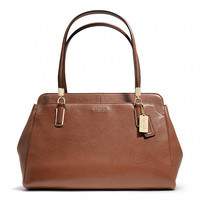 madison kimberly carryall in leather