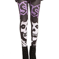 Misfits Fiend Leggings | Hot Topic