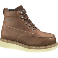 "Men's Moc-Toe 6"" Work Boot - W08288 - Soft Toe Work Boots 