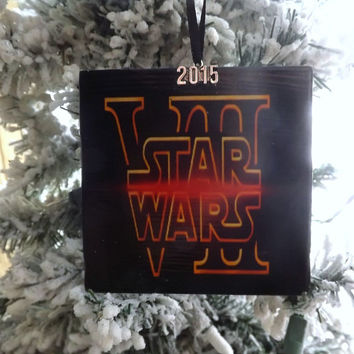 Star Wars VII 2015 Christmas Ornament- The Force Awakens Gift