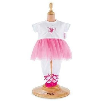 Corolle Ballerina Fucshia Suit for 14-inch Baby Doll