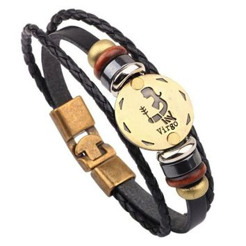 Fashion Jewelry Leather Bracelet