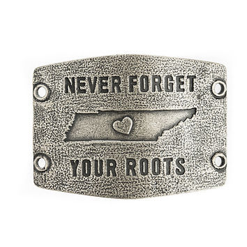 "Tennessee ""Never Forget Your Roots"" Lenny and Eva Large Sentiment"