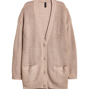 Chunky-knit Cardigan - from H&M