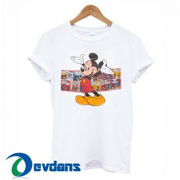 Mickey Mouse Vintage 90s T Shirt For Women And Men Size S To 3XL