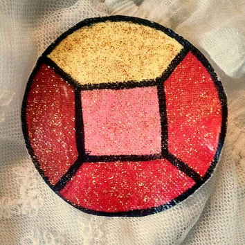 Steven Universe: Small Ruby Gem Patch