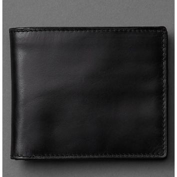 Gap Men Classic Leather Wallet Size One Size