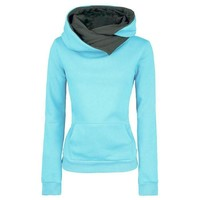 Women's Pullovers Lapel Collar sweater