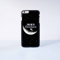 Peter Pan Take me to neverlandPlastic Case Cover for Apple iPhone 6 Plus 4 4s 5 5s 5c 6