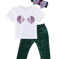 Baby Girls Mermaid Outfit