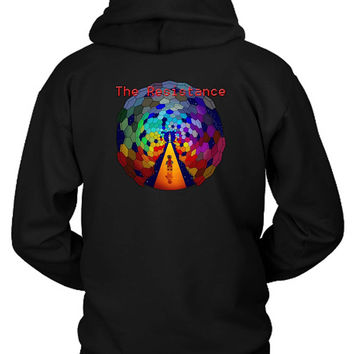 The Muse Lego Resistance Hoodie Two Sided