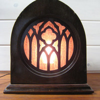 Peerless Radio Speaker Reproduced, Upcycled To Night Light, Peerless Speaker Box, Night Light