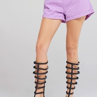 Alexa Purple Shorts Discover the latest fashion trends online at storets.com