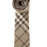 Burberry London 'Nova check' pointed tip tie