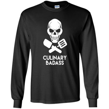 Culinary Badass T-Shirt - Great Gift For Chefs