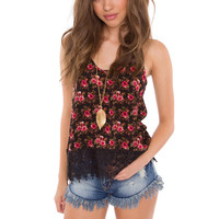 Minnie Floral Top