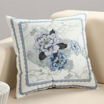 BZ034 Creative Lumbar Pillow floral shaped without inner decorative throw pillows chair seat home decor home textile gift