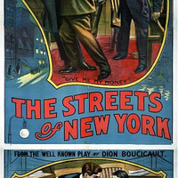 The Streets Of New York Vintage Movie Poster