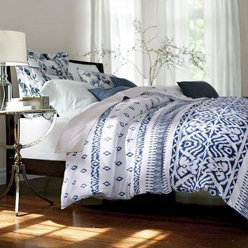 ONETOW Papa&Mima Bohemian style Quilted Quilt Thick Winter Blankets King Queen Size Throws Plaid comforter