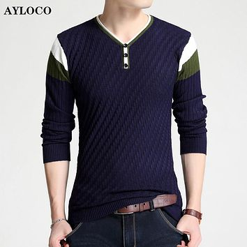 Brand Clothing New sweater men Autumn Fashion Brand Casual Sweater Slim Fit Knitting Men Sweaters And Male Pullover