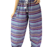 Unisex Boho pants Hippie pants one size fits