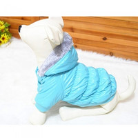 Waterproof Warm Pet Dog Clothes Apparel Hoodie Hooded Coat for Winter H9994BL = 1931757188