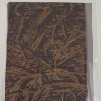 Mossy Oak Shadow Grass Thin Skin Breathable Camo Wrap 3M Lot 4 USA 1120 sq in