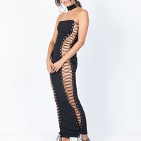Tied Up Party Dress