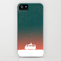 Quiet Night - starry sky iPhone Case by Budi Satria Kwan | Society6