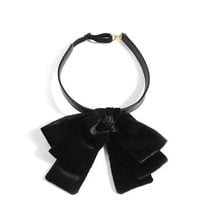 Velvet bow neck tie | Saint Laurent | MATCHESFASHION.COM