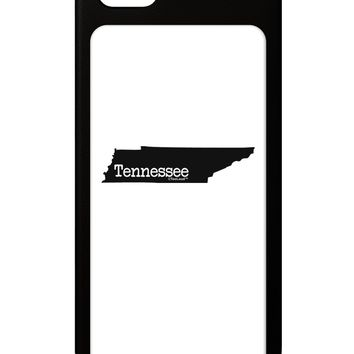 Tennessee - United States Shape iPhone 5 / 5S Grip Case  by TooLoud