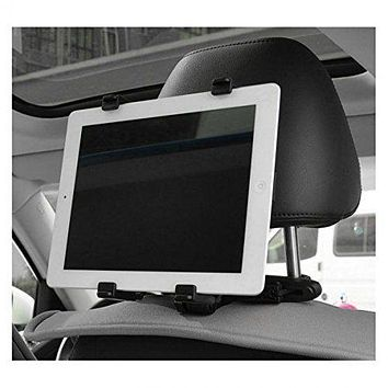 Universal Car Headrest Mount Holder for Smartphone Tablet PC iPhone iPad Mini
