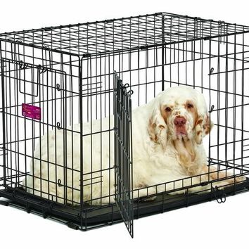 """Midwest ACE Double Door Dog Crate 30"""" x 19"""" x 21.5"""""""